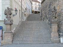 Praha, Hradčany, Radnické schody