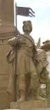 Vizovice, Mariánský sloup