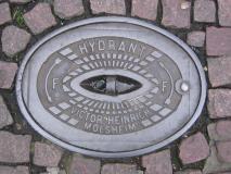Hydrant, Victor Heinrich, Molsheim (Francie)