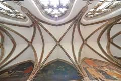 Třeboň, křížová chodba kláštera Augustiniánů