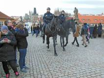 Hipomobilní policejní hlídka