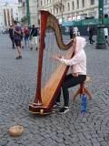 Harfenistka