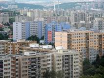 Paneláková cityscape