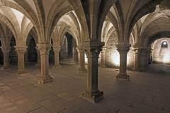 Třebíč, bazilika sv. Prokopa, krypta