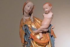 Vimperk, kostel Navštívení Panny Marie, kolem 1400