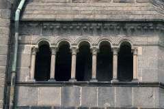 Třebíč,  bazilika sv. Prokopa, velká apsida