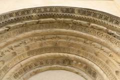 Záboří nad Labem, kostel sv. Prokopa, archivolta